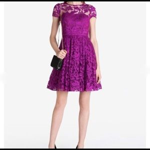 Ted Baker Caree Floral Lace Dress size 10